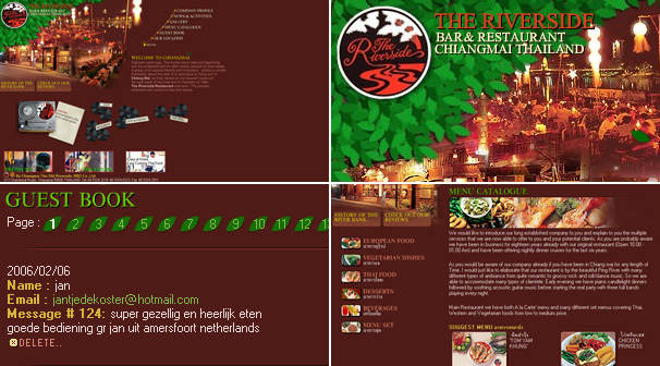 Chiangmai The Old Riverside 2002 Co.,Ltd.  | Webdesign ��§���� �͡Ẻ���䫵�
