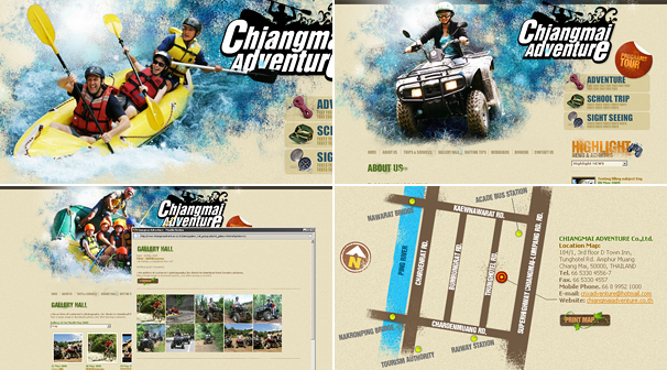 CHIANGMAI ADVENTURE | Webdesign ��§���� �͡Ẻ���䫵�