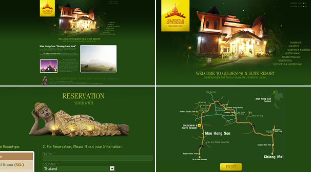 GOLDENPAI & SUITE RESORT | Webdesign ��§���� �͡Ẻ���䫵�