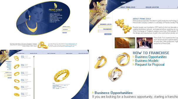Prima Gold Co.,Ltd | Webdesign ��§���� �͡Ẻ���䫵�