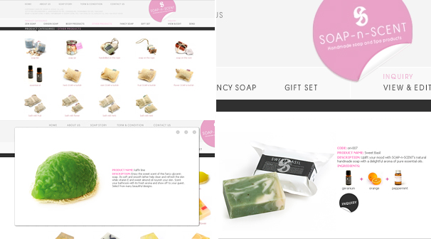 soap-n-scent Co.,Ltd | Webdesign ��§���� �͡Ẻ���䫵�